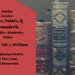 Sages, Saints, and Scoundrels -- August 4th 2019 10:30 AM