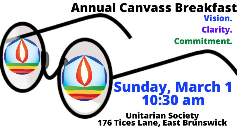 Canvas Breakfast — March 1, 2020 @ 10:30 AM